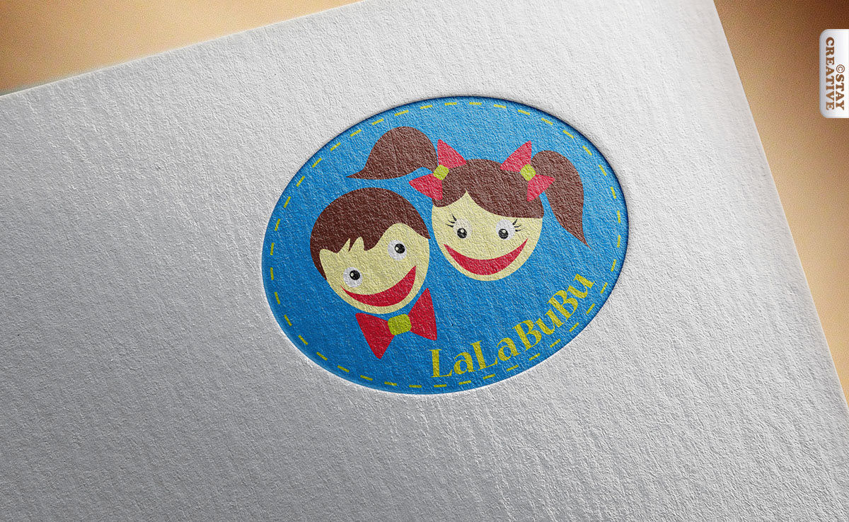 logo dla butiku dziecięcego LalaBubu