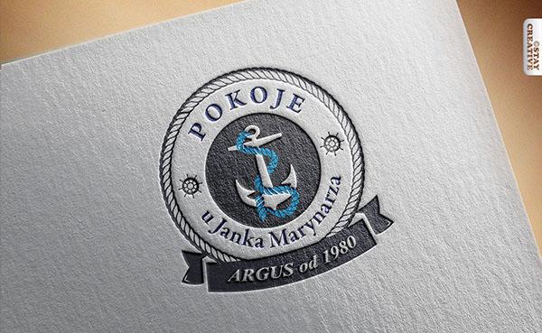 Pokoje uJanka Marynarza – Logo