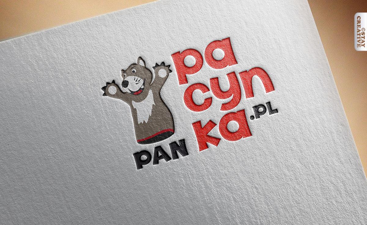 projektowanie logo poznań - logo i nazwa dla teatrzyku dziecięcego Pan Pacynka