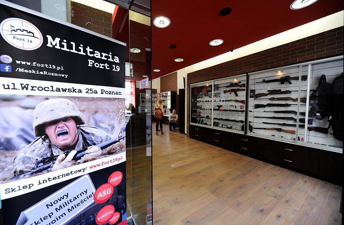 fotografia_wnetrz_sklep_militarny_poznań