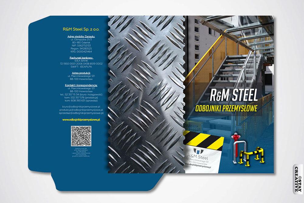 teczka ofertowa z gumką RM Steel economy