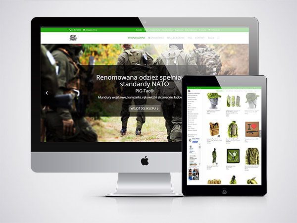 sklep internetowy z odzieżą militarną PIG-Tac