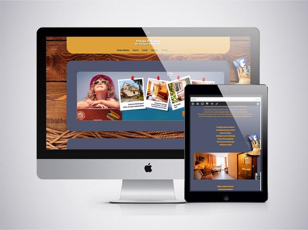 Pokoje na Złotych Wydmach – strona www