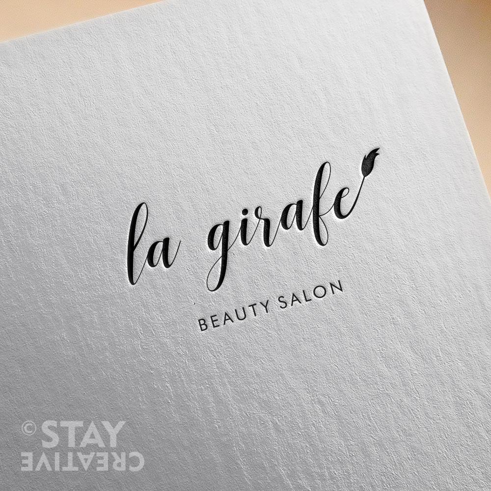 projekt logo dla salonu kosmetycznego Poznan